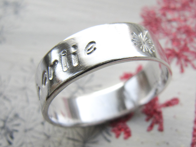 Super Glossy Sterling Silver Ring